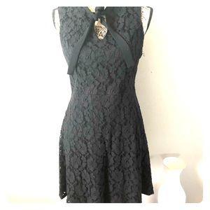 🧡Sale Item-Xhiliration size L lace dress.